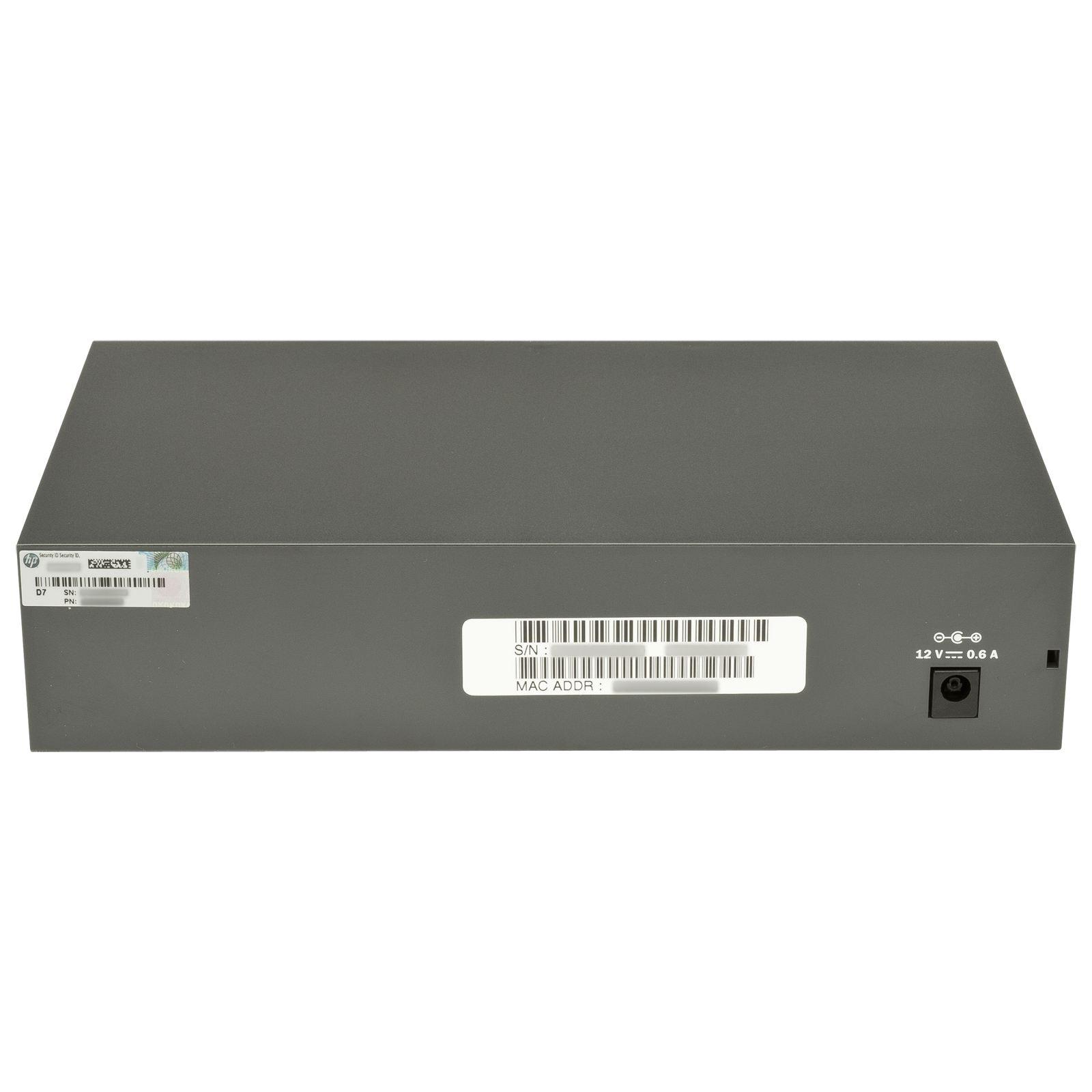 HPE 1810-8G v2 Switch (J9802A) - Product documentation